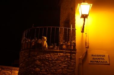 En la noche de Begur