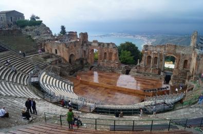 Teatro griego de Taormina.