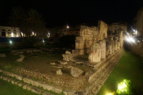 Templo de Aplolo. Siracusa.