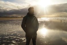 En la playa de La Haya, con fresquibiri.