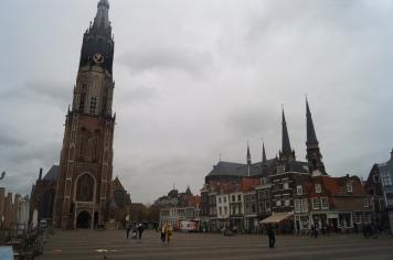 Plaza central de Delft