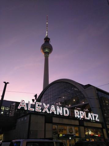 La torre y la estación de Alexander Platz