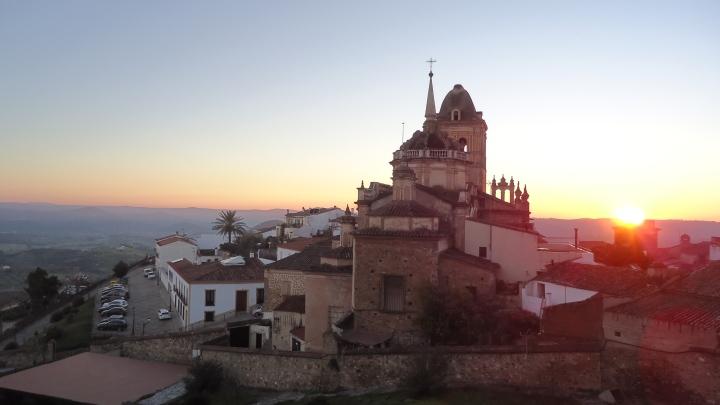 Puesta de sol en Jerez